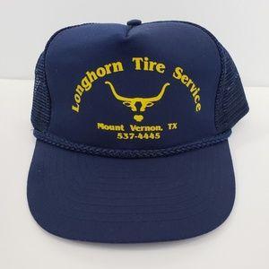 Vintage Mens Trucker Mesh Snap Back Hat Cap Blue e399131536f